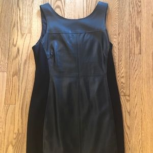 Sanctuary faux leather dress